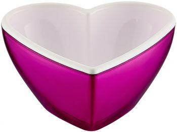 Kalp Şeklinde Renkli Kase