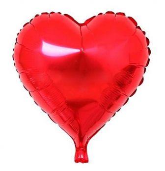 Kalpli Folyo Balon Kırmızı
