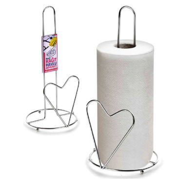Diğer - Kalpli Metal Kağıt Havluluk