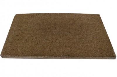 Diğer - Kapı Önü Koko Kıl Dikdörtgen Paspas Düz Renk 30X55cm