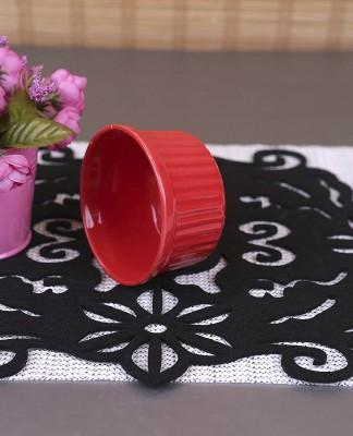 Karışık Renkli 6lı Seramik Mini Sufle Kabı - Thumbnail
