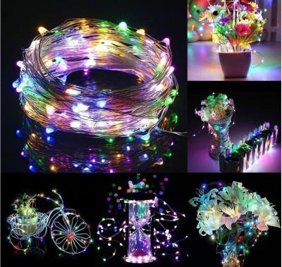 Diğer - Karışık Renkli Mini Peri Led Dekor Işığı 10 Metre