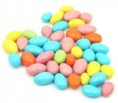 Diğer - Kayısı Çekirdekli Karışık Renkli Bebek ve Nikah Şekeri 1kg