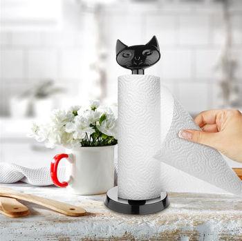 Kedi Tasarımlı Dekoratif Kağıt Havluluk