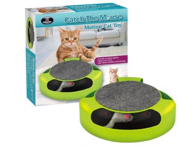Diğer - Kediler İçin Hareketli Fare Yakalama Oyuncağı