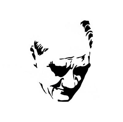 Diğer - Kemal Atatürk Sticker 23cm