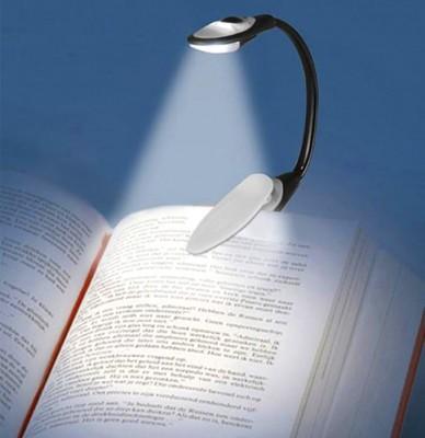 Diğer - Kıskaçlı Bükülebilen Kitap Okuma Işığı