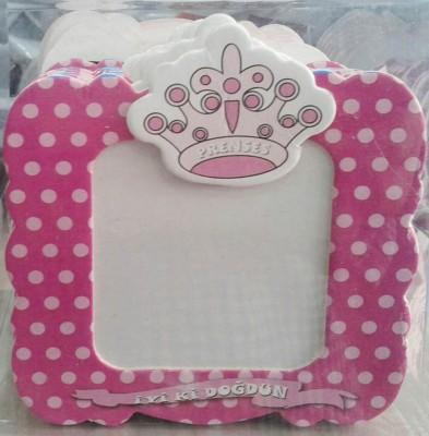 Diğer - Kız Bebek Yaş Günü Hatırası Magnet Çerçeveler Pembe