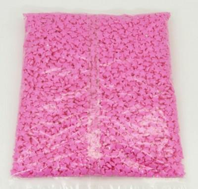 Diğer - Kooler Draje Şeker Yıldız Şeklinde Şeker Pembesi 1kg.