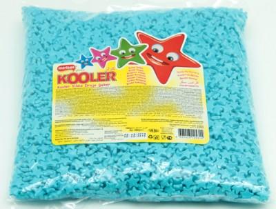 Diğer - Kooler Yıldız Şeklinde Draje Şeker Mavi 1kg.