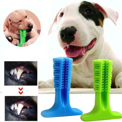 Diğer - Köpekler İçin Plastik Diş Temizleme Oyuncağı Küçük