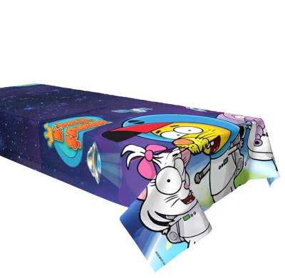 Diğer - Kral Şakir Uzayda Plastik Masa Örtüsü 120x180 cm