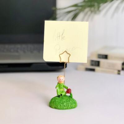 Küçük Prens Dekoratif Mini Not Tutucu - Thumbnail