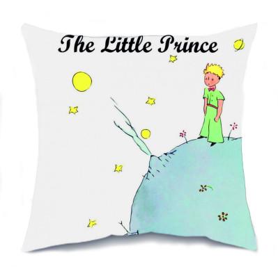 Diğer - Küçük Prens Tasarımlı Kırlent Yastık 35cm