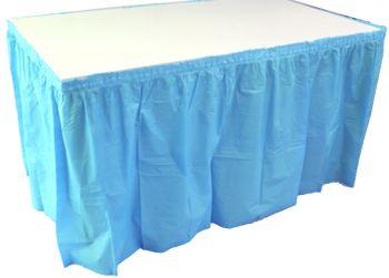 Kullan At Parti Masa Eteği Mavi