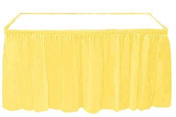 Kullan At Parti Masa Eteği Sarı