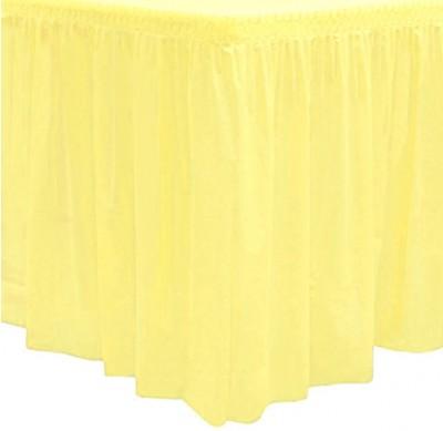 Kullan At Parti Masa Eteği Sarı - Thumbnail
