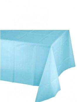 Kullan At Parti ve Kutlama Masa Örtüsü Düz Renk Mavi 120x180cm