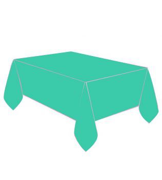 Diğer - Kullan At Parti ve Kutlama Masa Örtüsü Düz Renk Yeşil 120x180cm