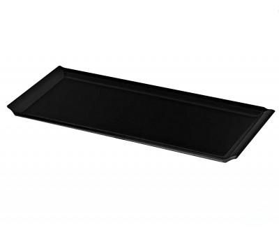 Külsan - Külsan Thermoset Baton Servis Tabağı 38cm Siyah