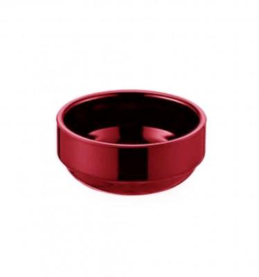 Külsan - Külsan Thermoset Oval Reçellik ve Sosluk 8cm Kırmızı