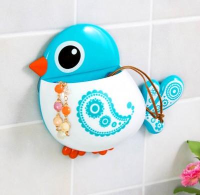 Kuş Tasarımlı Vantuzlu Diş Fırçası Kutusu - Thumbnail