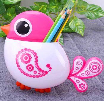 Kuş Tasarımlı Vantuzlu Diş Fırçası Kutusu
