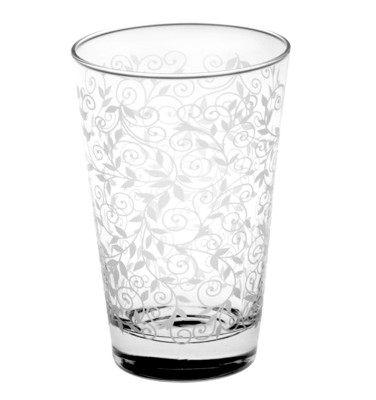 Lav - Lav 6lı Sarmaşık Desenli Su ve Meşrubat Bardağı