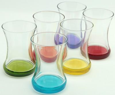 Lav - Lav Coral Zen 6lı Renkli Çay Bardağı