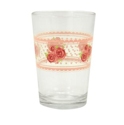 Lav - Lav Lora 6lı Gül Desenli Su Bardağı