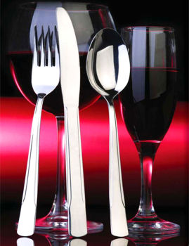 Lavella Sade 12li Yemek Çatalı