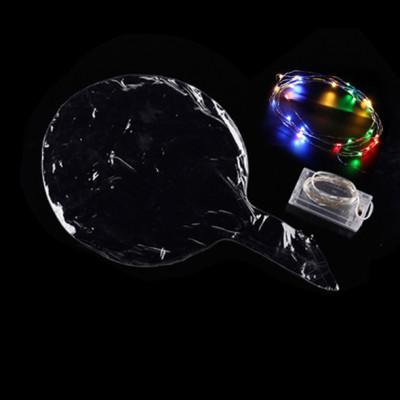 Diğer - Led Işıklı Lateks Şeffaf Dev Balon
