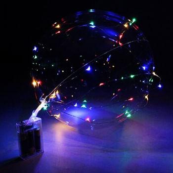 Led Işıklı Lateks Şeffaf Dev Balon