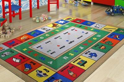 Confetti - Lesson Çocuk ve Kreş Odası Oyun Halısı 133x190cm