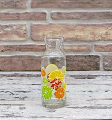 Joy Glass - Limon Desenli Cam Karaf 250ml