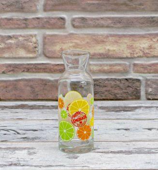 Limon Desenli Cam Karaf 250ml