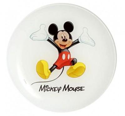 Luminarc - Luminarc Disney Mickey Pasta Tabağı 20cm.
