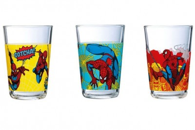 Luminarc - Luminarc Disney Spiderman 3lü Bardak Set Sarı 160ml