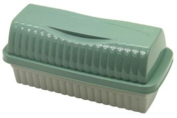 Lüx Çift Renkli Plastik Tost Ekmeği Kutusu
