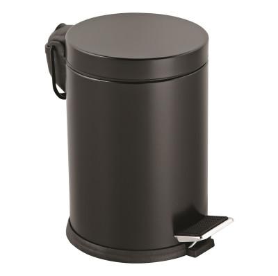Diğer - Metal Pedallı 5 Lt Çöp Kovası Siyah