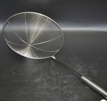 Metal Tel Kızartma ve Haşlama Kevgiri 16cm