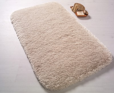 Confetti - Miami Kabarık Banyo Halısı Krem 57x100cm