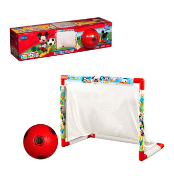 Mickey Mouse Temalı Fileli Kale ve Top Futbol Seti 58cm