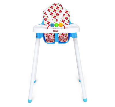 Taşpınar - Minderli Oyuncaklı Bebek Mama Sandalyesi Mavi