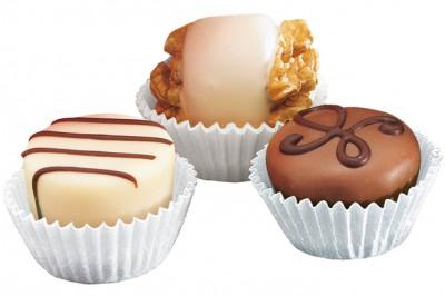 Diğer - Mini Çikolata ve Bisküvi Kağıdı 100 Adet Kapsül