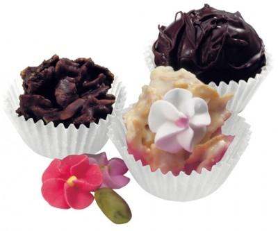 Mini Çikolata ve Bisküvi Kağıdı 100 Adet Kapsül - Thumbnail