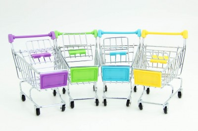 Diğer - Minyatür Alışveriş Arabası