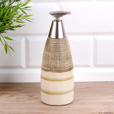 Diğer - Modern Tasarımlı Seramik Sıvı Sabunluk