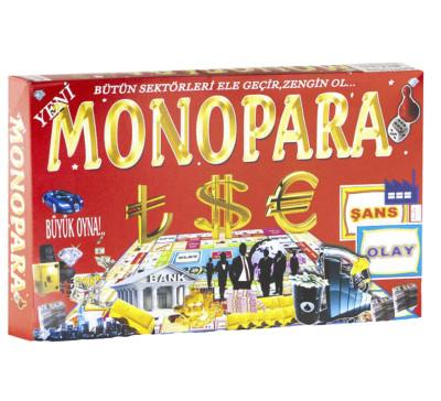 Diğer - Monopara Kutu Oyun Seti 22x37x5cm