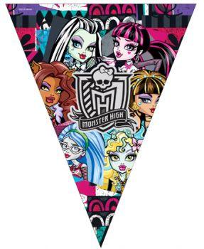 Monster High Kız Çocuklar İçin Flama Bayrak